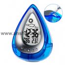 שעון הפועל על מים ללא סוללות