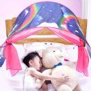 אוהל למיטת ילדים