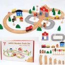 רכבת פזל מעץ