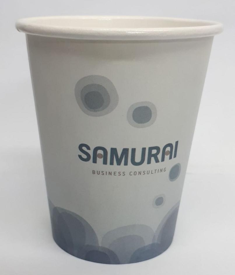כוס חד פעמית עם הדפסה צבעונית