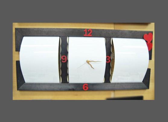 מתנה לסבא שעון מסגרת תמונות