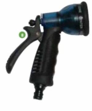 אקדח התזה פלסטיק שקוף 7 מצבים