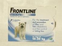 אמפולות לכלבים פרונטליין