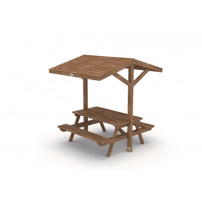 METOD 19PM שולחן קרן קיימת עם גג