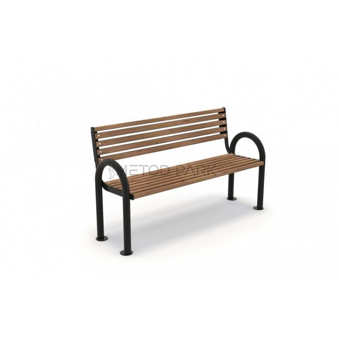 METOD 42B ספסל עץ עם גב