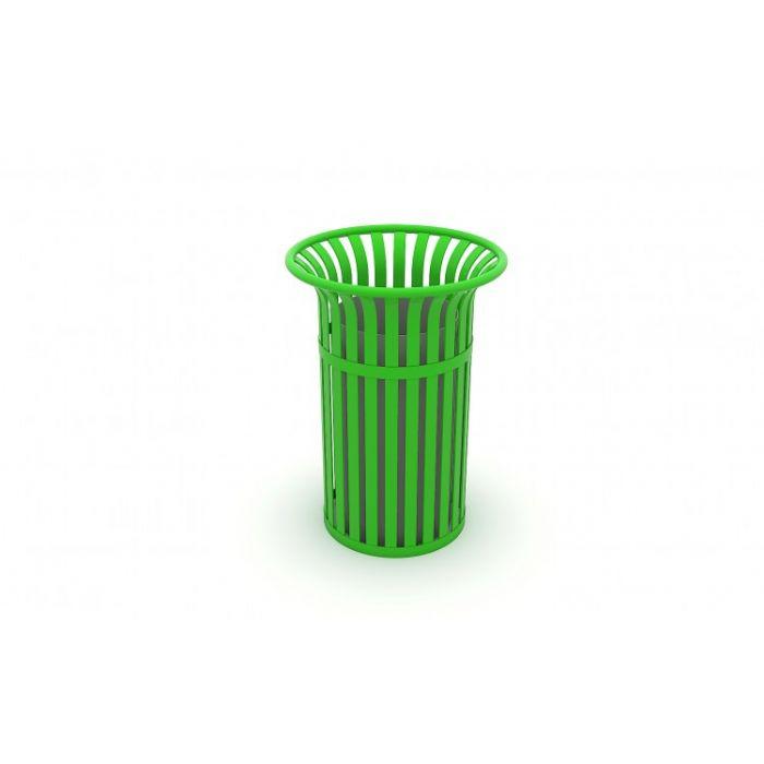 METOD 05 CK פח אשפה מתכת ירוק