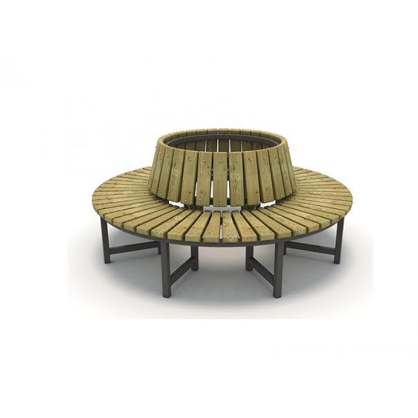 METOD 59B-ספסל מעוגל בלי גב