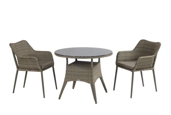 מערכת ישיבה דגם גארדן+2 כסאות