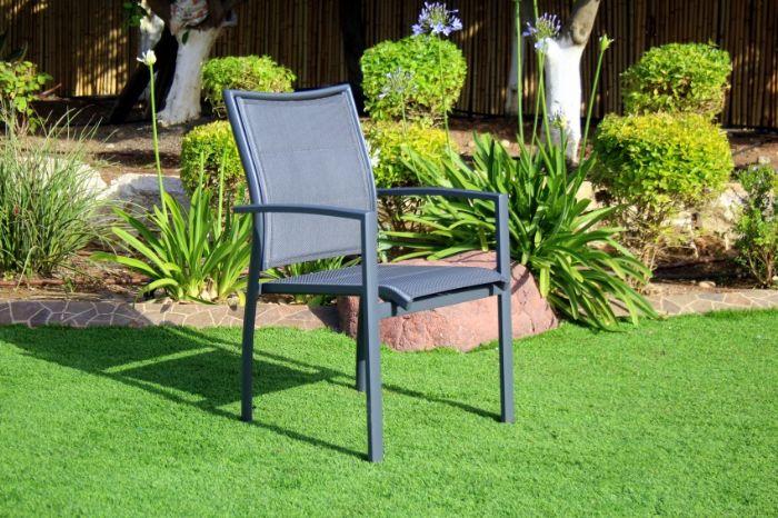 """כסא גינה אלומיניום דגם """"עדן"""""""
