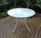 שולחן אלומיניום עגול 105