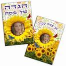 הגדה דגם חמניות - דו צדדי
