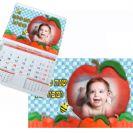 לוח שנה תפוחים