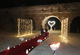 מפלי תאורה להצעת נישואין