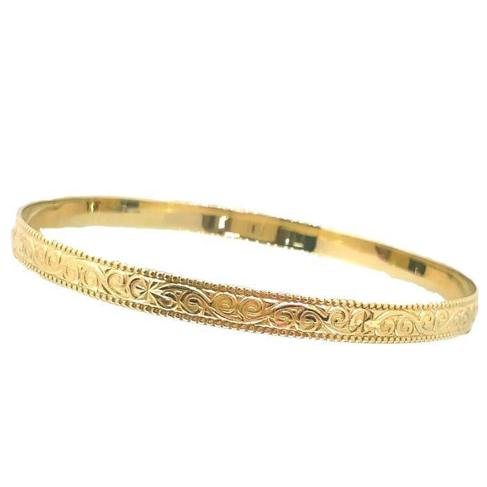 צמיד זהב 14K מרוקאי קלאסי (2205)
