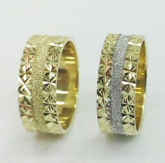 טבעות נישואין זהב (4145)