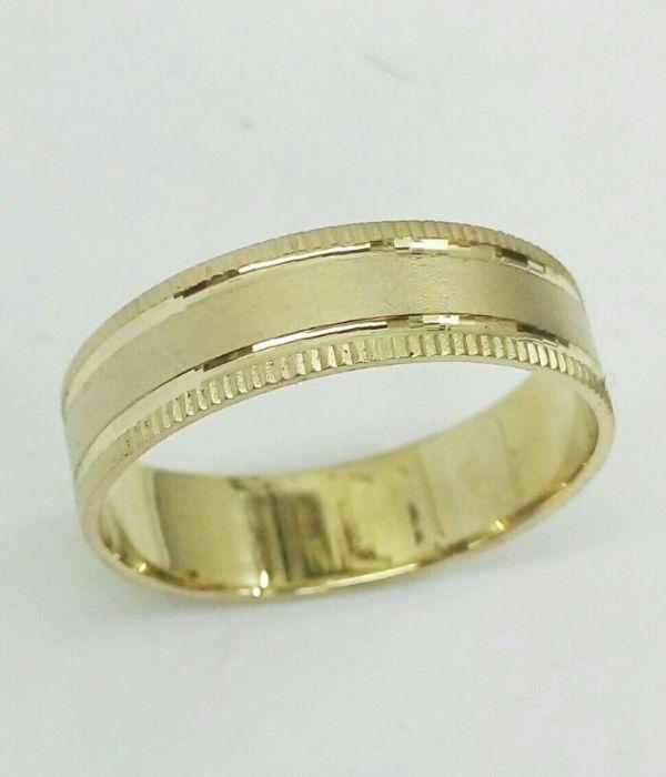 טבעת זהב לגבר (4450)