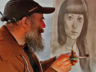 צייר ודיוקן - תמונות למכירה