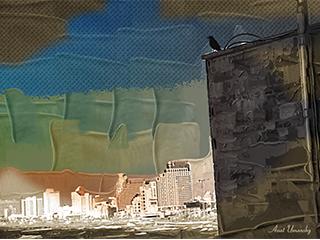 תל אביב ממבט העורב - תמונות  לסלון