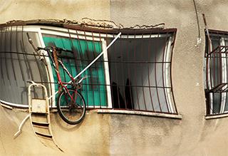 מרפסת, אפניים וסולם - תמונות למכירה