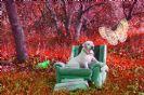 מנוחה על כורסא - הדפסת תמונה על קנבס