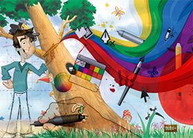 איורים לספרי ילדים, הוצאה לאור, סטודיו לעיצוב גרפי