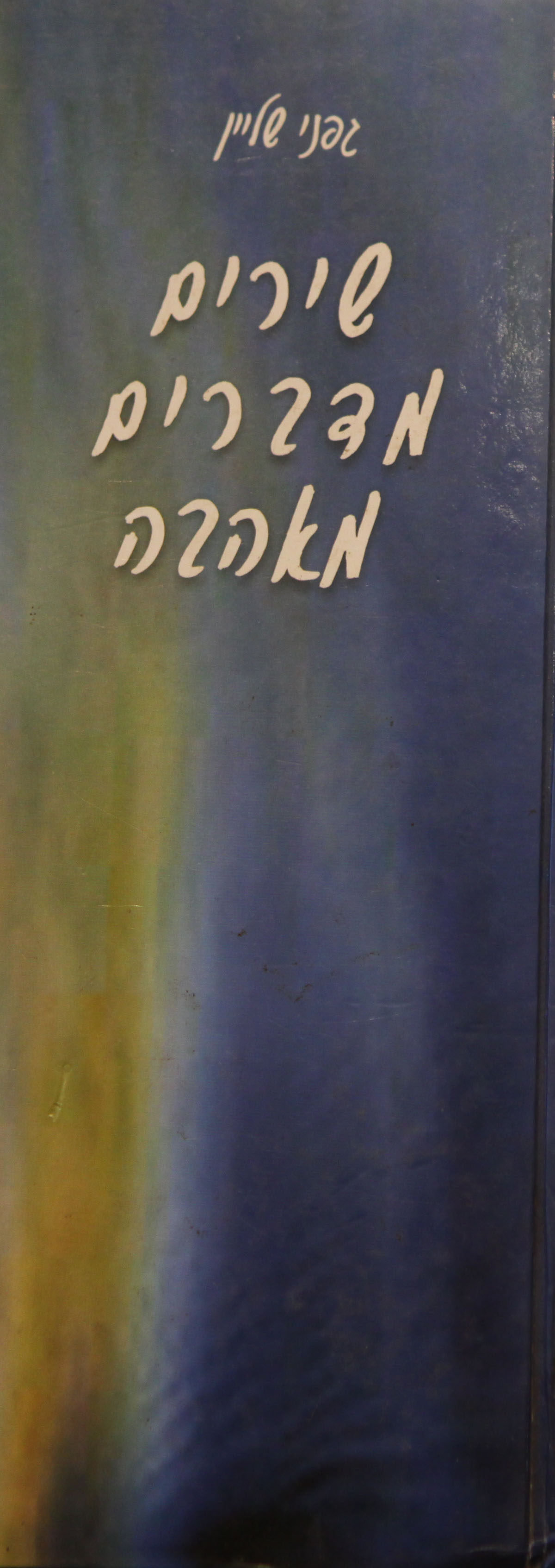 הוצאה לאור, הוצאת ספרים, ספרי שירה, עריכה לשונית