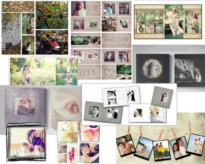הוצאה לאור, אלבומים מעוצבים, אלבומי תמונות מעוצבים