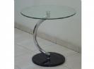 שולחן עגול רגל מעוצבת
