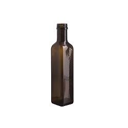 בקבוק 250 מרובע ירוק