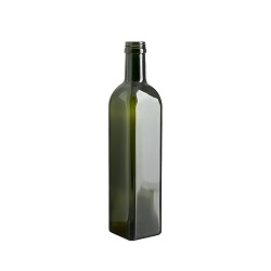 בקבוק 500 מרובע ירוק