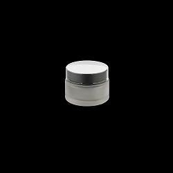 צנצנת 30 זכוכית פרוסטד