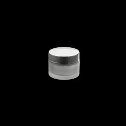 צנצנת 50 זכוכית פרוסטד