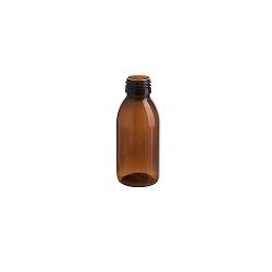בקבוק 125 PET לוג חום ללא פקק