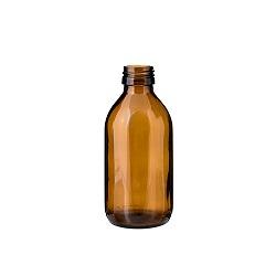 בקבוק 200 זכוכית חום 28