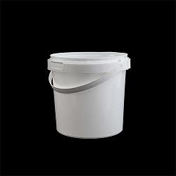 דלי 1 ליטר לבן