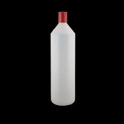 בקבוק ליטר PE גלילי+ סנפ