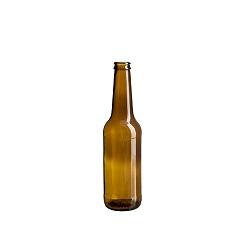בקבוק בירה 330 חום