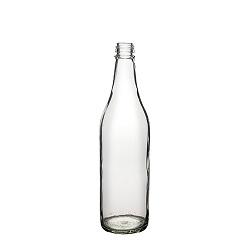 בקבוק 650 עגול שקוף