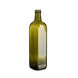 בקבוק 750 מרובע ירוק