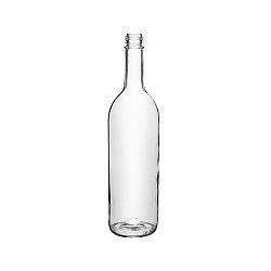 בקבוק 750 מיץ שקוף