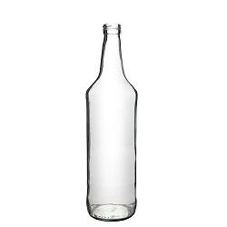 בקבוק ליטר עגול שקוף 31.5