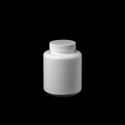 צנצנת 200 טבליות לבנה