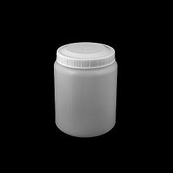 צנצנת 1000 גלילית חלבית