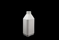 בקבוק ליטר לוג לבן אטום