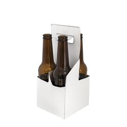 קרטון לרביעיית בקבוקי בירה