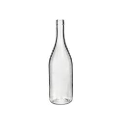 בקבוק 750 בורגונדי שקוף