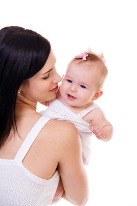 אמא ותינוק