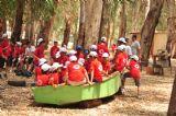 ילדי הקייטנה מתכוננים ליום מלא פעילויות ואטרקציות מגבשות ומלאות אדרנלין