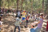 אטרקציה של יום כיף לכל המשפחה עם חבלים שתדבש את המשפחה ותעביר את היום בכיף לילדים ולהורים כאחד