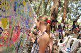 קיר ציור לילדים קטנים וגדולים ביער בראשית ביום כיף שלם מלא באטרקציות אתגריות מרתקות לכל גיל